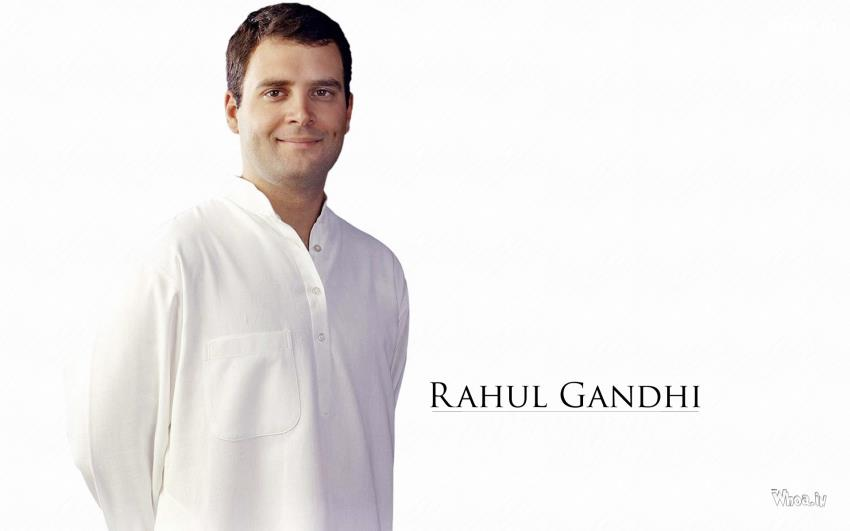Rahul-Gandhi-White-Outfits-with-White-Background-HD-Wallpaper