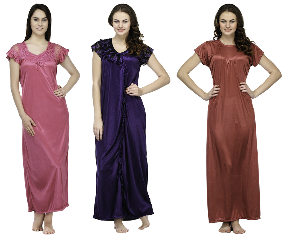oleva-combo-of-3-satin-nighties-ohd-54