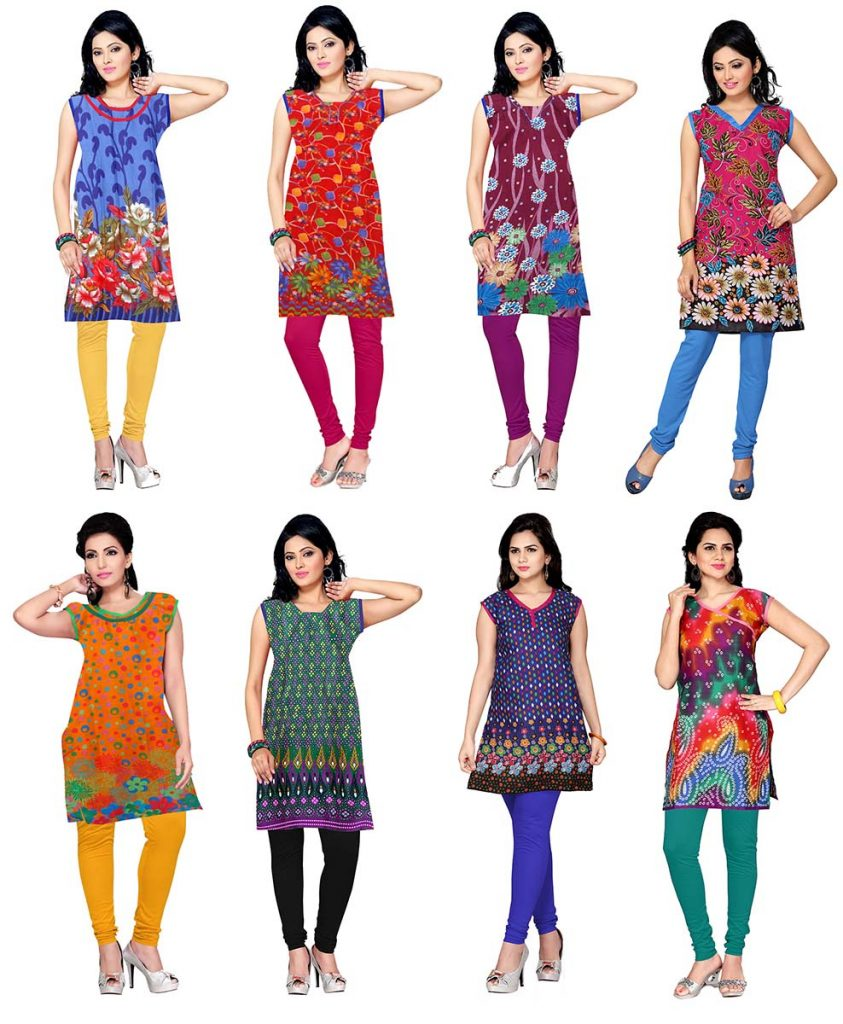 shubhleen-combo-of-8-kurtis-and-8-leggings