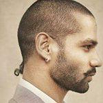 Shikhar Dhawan hairstyle
