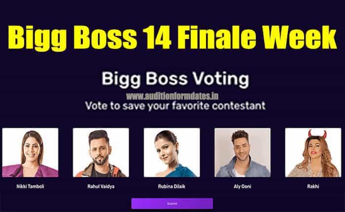 bigg boss 14 finale voting